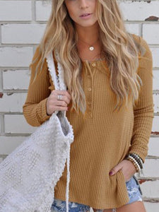 Loose Knitted Long Sleeve Jumper Sweater white xl