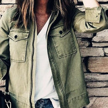 Fashion Long Sleeves Casual Outwear Jackets