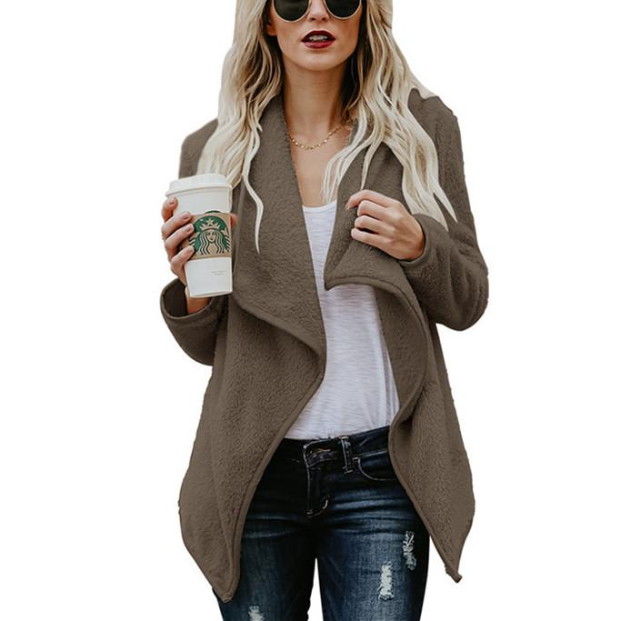 Autumn New Sweater Fashion Long-Sleeved Jacket