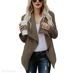 Autumn New Sweater Fashion Long-Sleeved Jacket gray s
