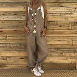 Sexy Slim Thin Jeans Wide Leg Jumpsuit dark_grey xl