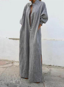 Leisure To Open A Vintage Long Casual Dress same_as_photo xl
