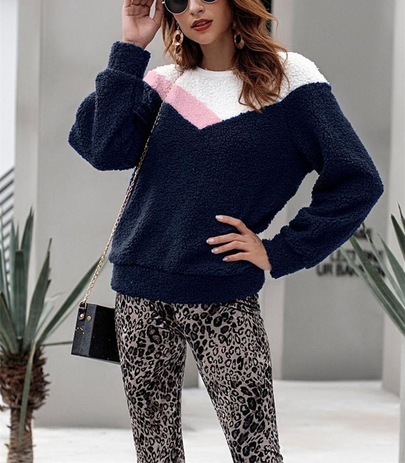 Fashion Collage Warm Sweaters royal_blue m