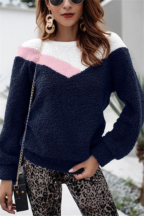 Fashion Collage Warm Sweaters royal_blue s