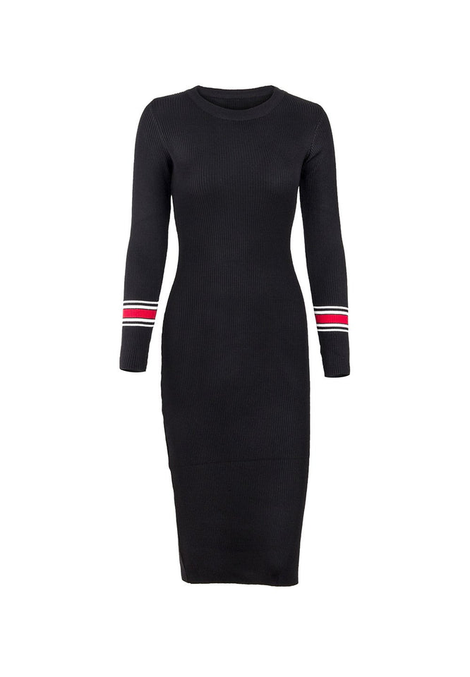 Sexy Body Long Sleeve Knitting Bodycon Dresses