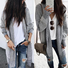 Fashion Plaids Long Sleeve Cardigans