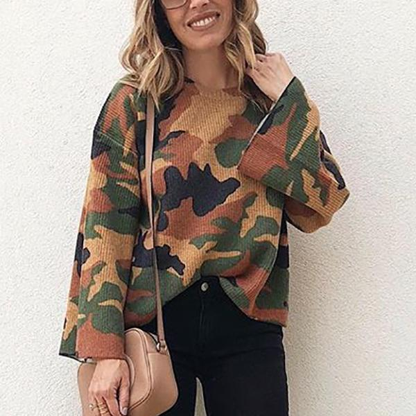Wild Hedging Camouflage Corduroy Top camouflage m