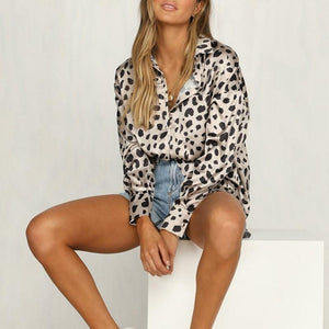 Trendy Leopard Print Long-Sleeved Shirt same_as_photo l
