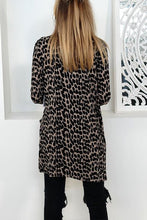 Autumn And Winter Fashion Leopard Print Long-Sleeved Cardigans