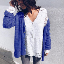Sexy V-Neck Button Comfort Cardigan