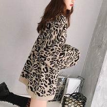New Fashion Zebra Pattern Warm Sweater