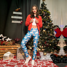 Christmas New Print Sports Leggings