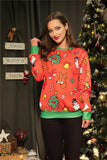 Christmas New Fashion   Print Sweater Same As Photo s
