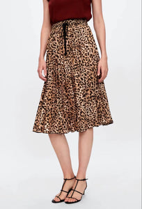 Fashion New Leopard Print Loose Dress Leopard Print l