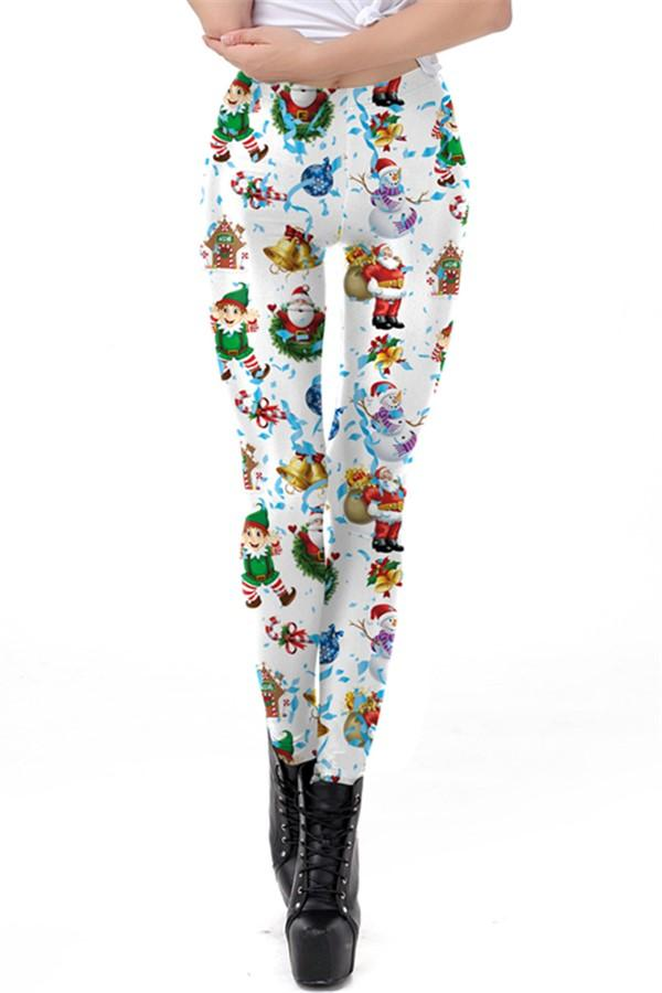 Christmas Festivals   Printed Long Pants Same As Photo s