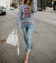 Fashion Trend Round Collar Long Sleeve Letters Leisure Jacket