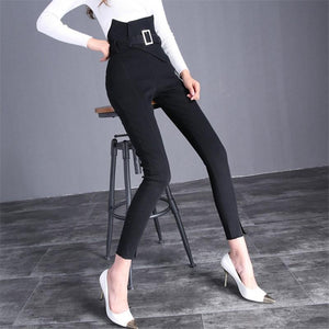 The Flower Bud Shows Thin Jeans Black xl