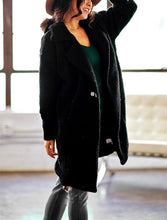 Pure Color Warm Woolen Jackets