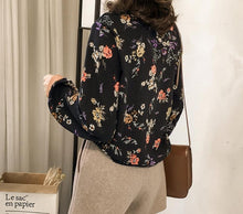 Fashion Casual Floral Blouse With Long Sleeves Shirt