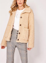 Casual Pure Color Warm Wool Coats With Lapel Buttons