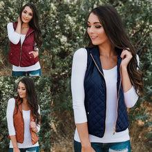 Autumn And Winter Casual Sleeveless Cotton Vest