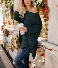 Casual Slim Sexy Loose Off The Shoulder Sweaters