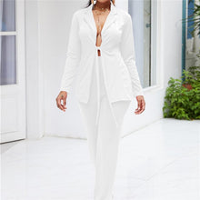 Fashion Sexy Solid Color Suit