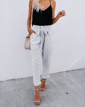 Fashion Loose Show Thin Strips Pencil Pants