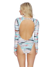 Sexy Long Sleeves Backless One-Piece Bikini Swimwear