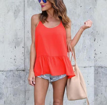 Fashion Casual Sexy Sling T-Shirt Blouse