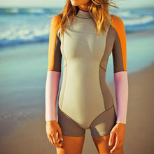 Sexy Bikini Surf Diving Long Sleeve One-Piece Swimsuit