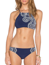 Pretty Printed Two-Pieces Bikini Swimwear