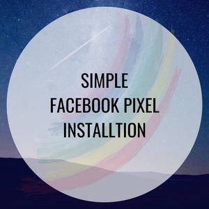 Facebook Pixel Installation - Simple