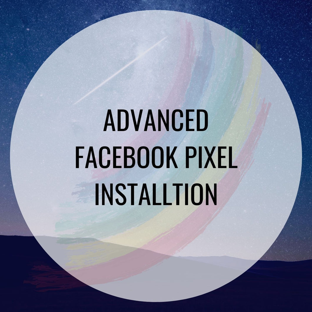 Facebook Pixel Installation - Advacned
