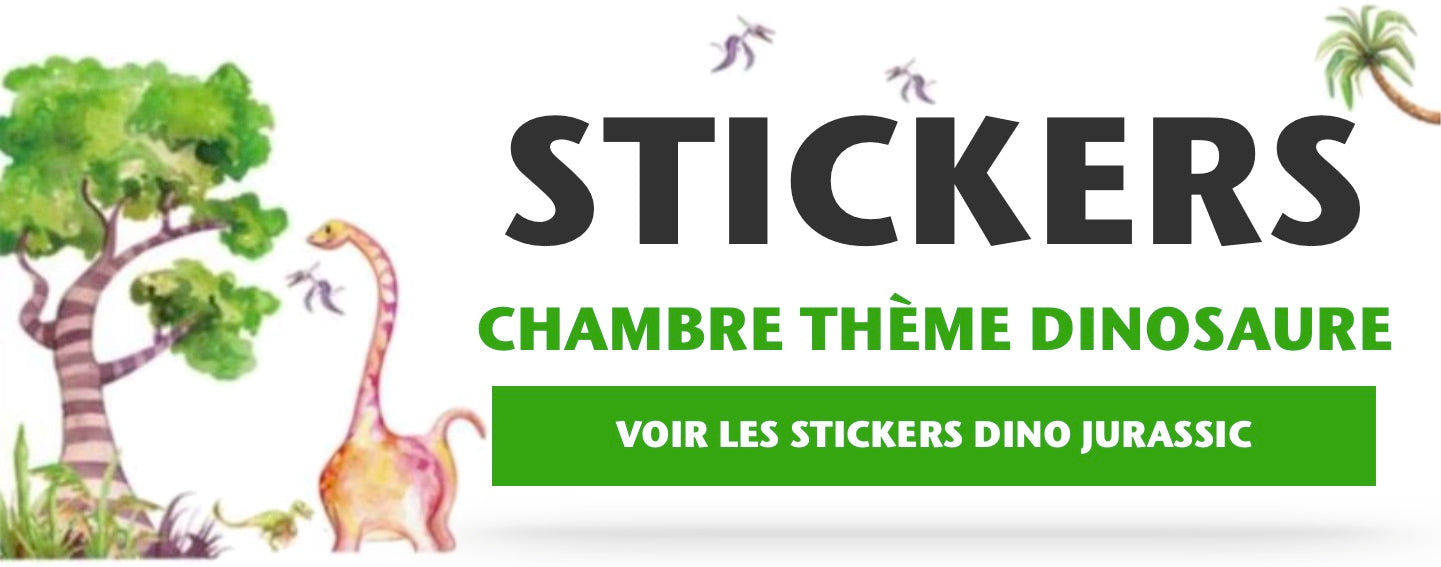 Stickers Chambre Thème Dinosaure