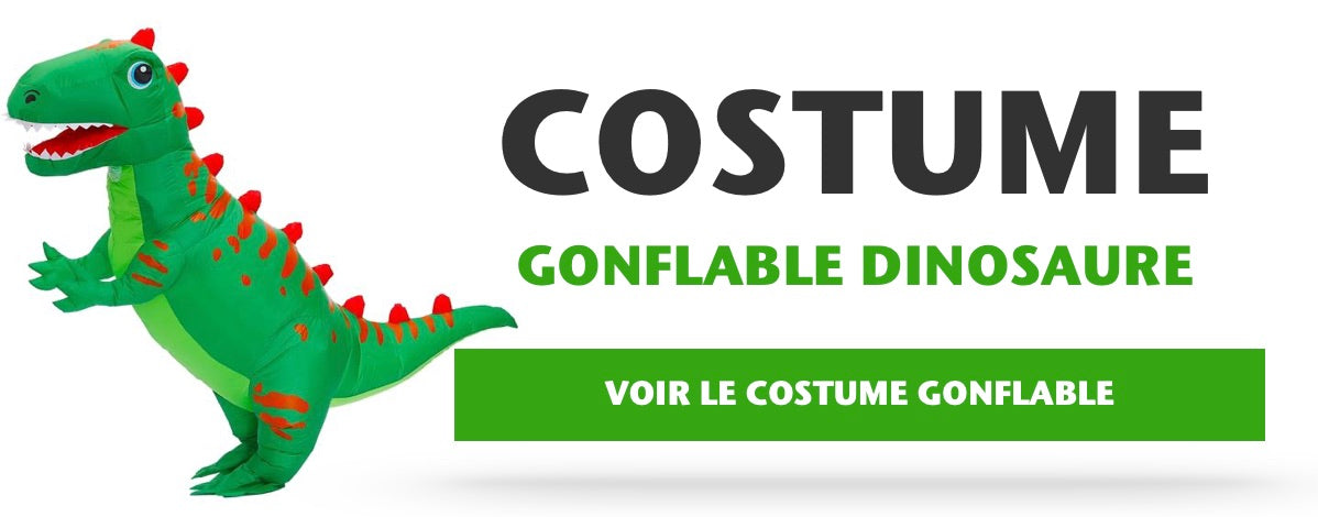 Costume Gonflable Dinosaure