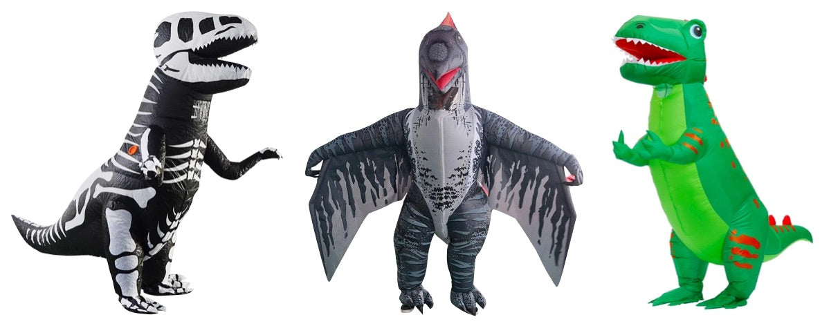 Costumes dinosaures gonflables