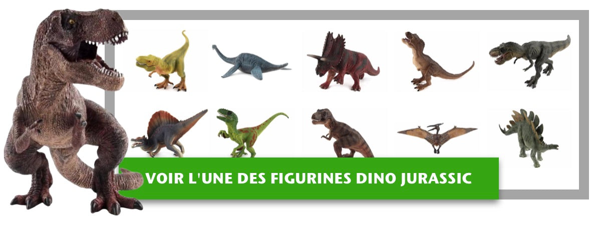 Collection Figurines Dinosaures