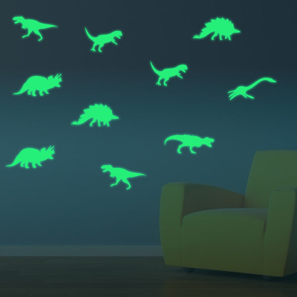 Deco Dinosaures Fluorescents