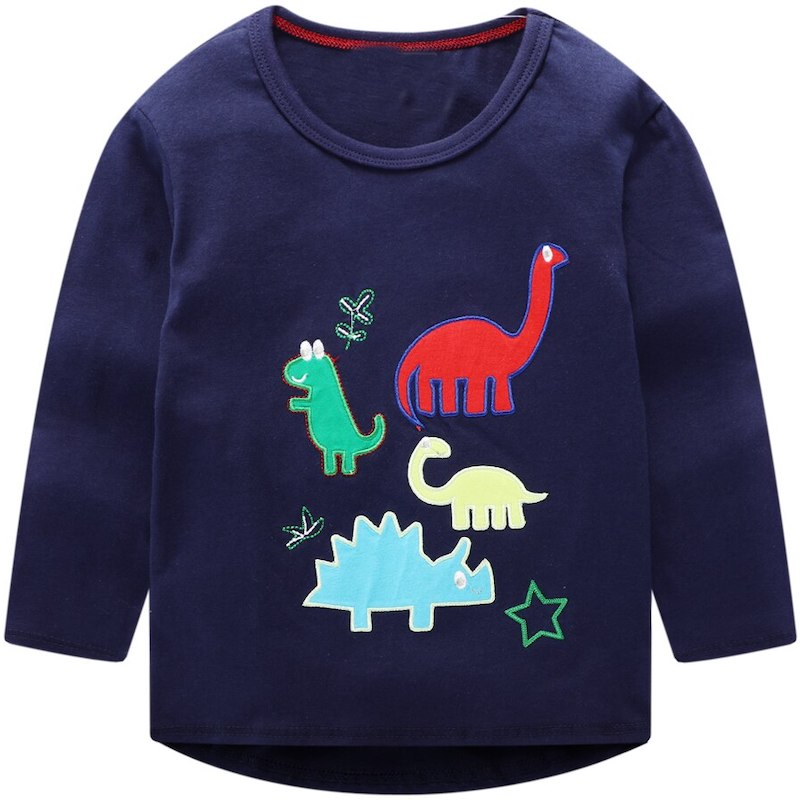 T-Shirt Dinosaures Multicolores