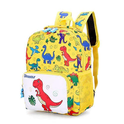 Cartable Dinosaure Jaune
