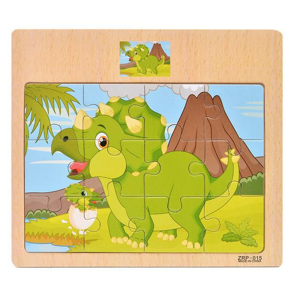 Puzzle Dinosaure 3 Ans