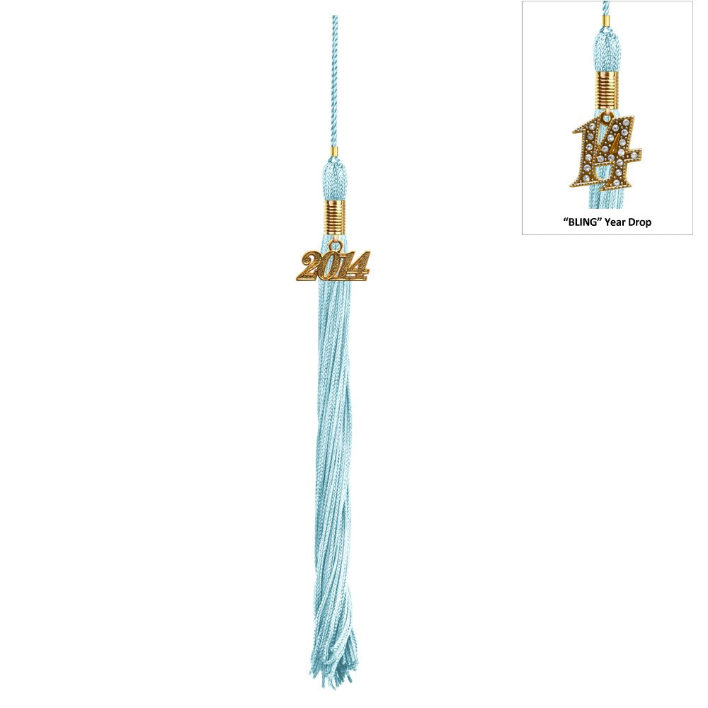 Light Blue Kindergarten Cap & Tassel