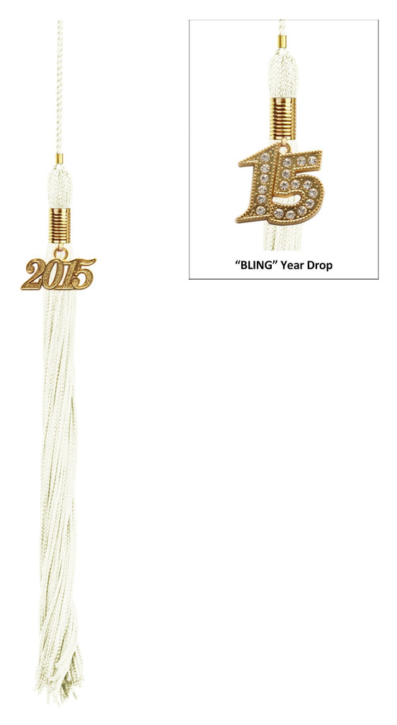 White Preschool Tassel