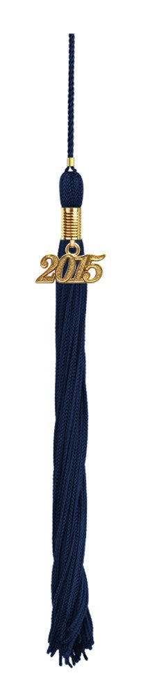 Navy Blue Preschool Tassel