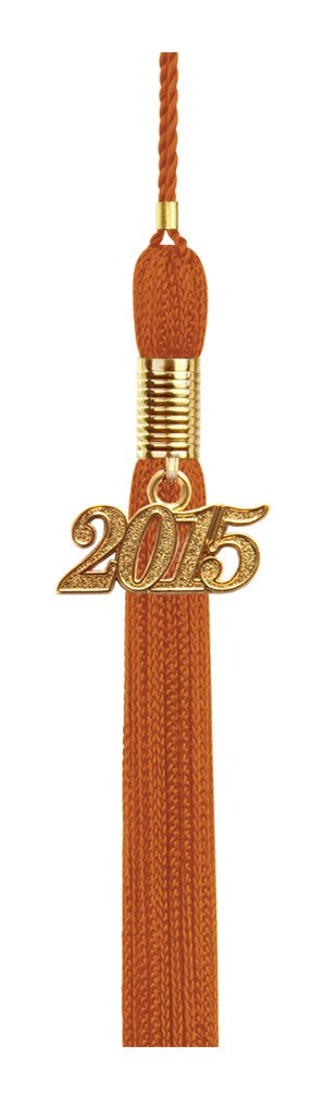 Orange Preschool Tassel