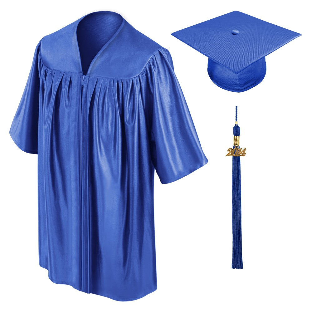 Royal Blue Kindergarten Cap, Gown & Tassel