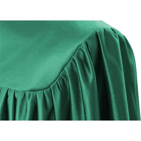Emerald Green Kindergarten Cap, Gown & Tassel