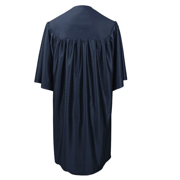 Navy Blue Preschool Cap, Gown & Tassel