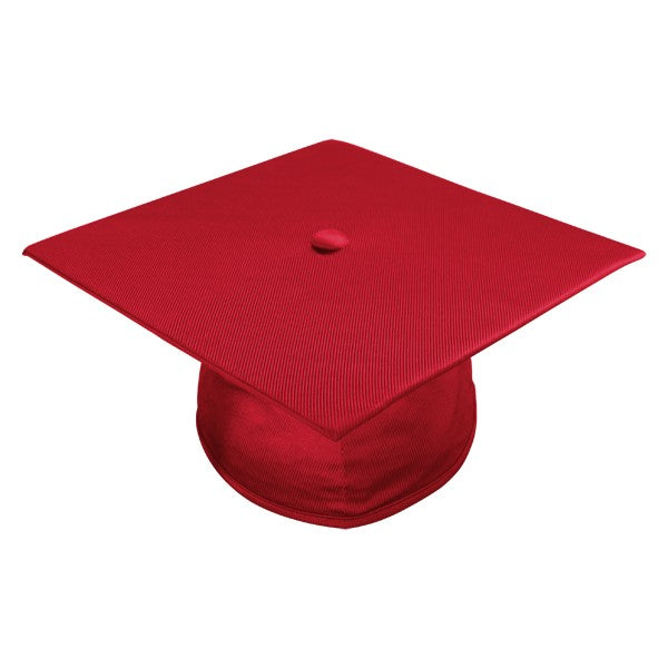 Red Kindergarten Cap, Gown & Tassel